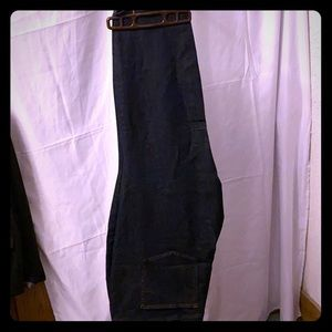 Loft Plus Modern Skinny Jeans Dark Wash size 26